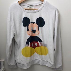Disney authentic crew neck sweatshirt
